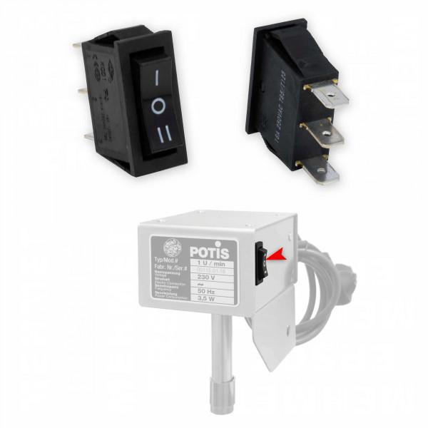 Schalter für Potis Dönergrill Motor