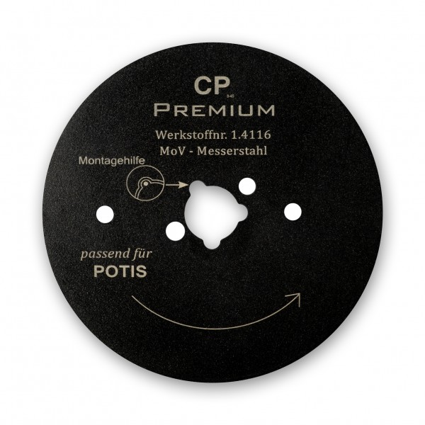 Kreismesser Teflon Passend zu Potis