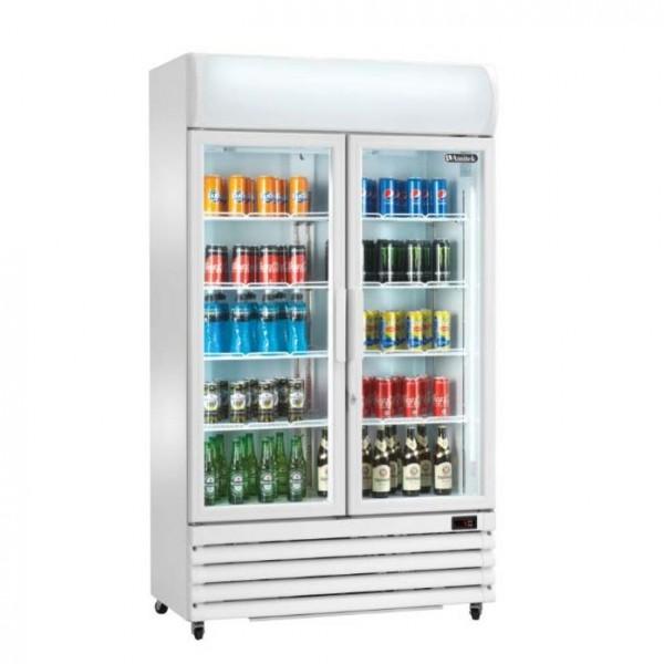 Glastürkühlschrank Display AKE751RS 670 Liter
