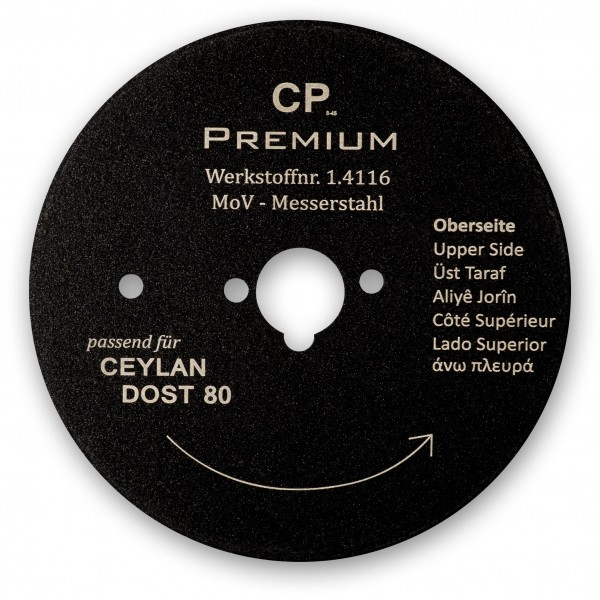 Kreismesser 80 Teflon für Ceylan Dost