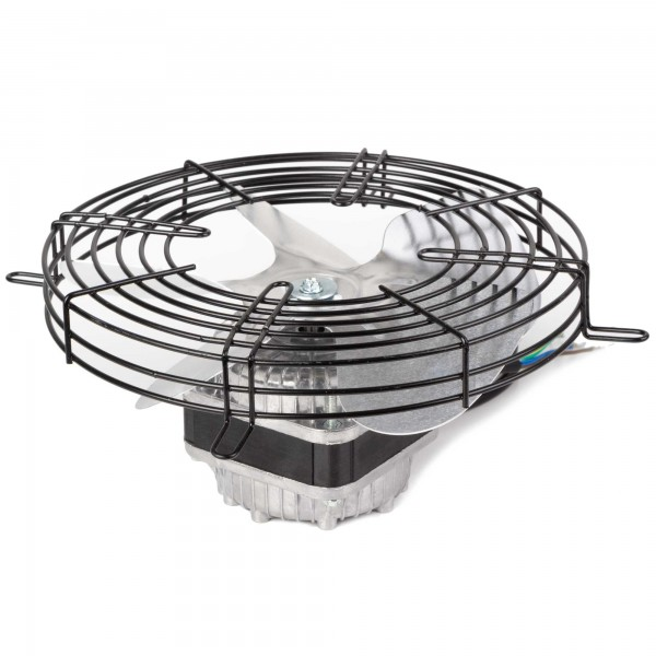 Lüftermotor Lüfterrad und Schutzgitter Set
