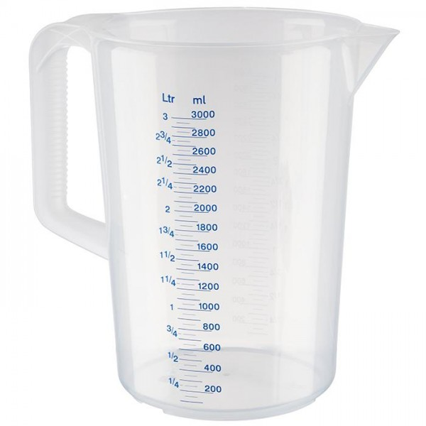 Messkanne Messbecher APS 3 Liter