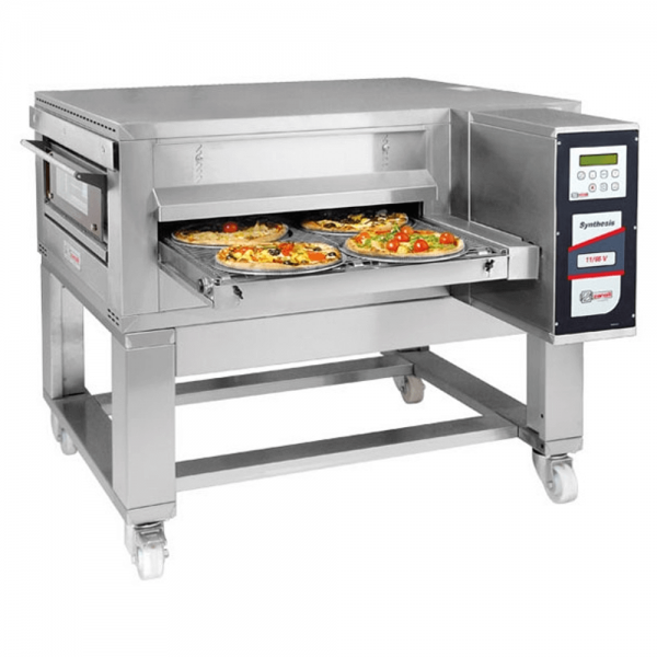 Zanolli Synthesis 11/65 V Gas Durchlauf Pizzaofen