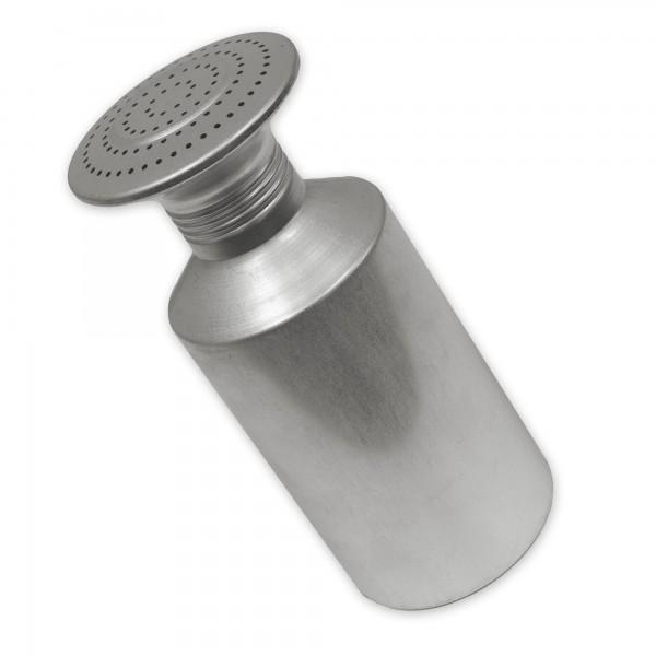 Salzstreuer Contacto Aluminium 8 cm Duchmesser 17 cm Höhe