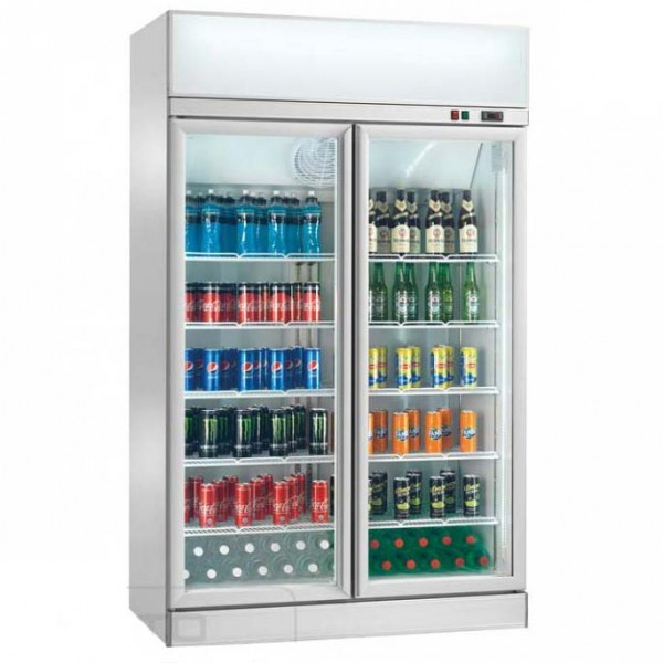 Glastürkühlschrank Display AKE1200RG 1000 Liter