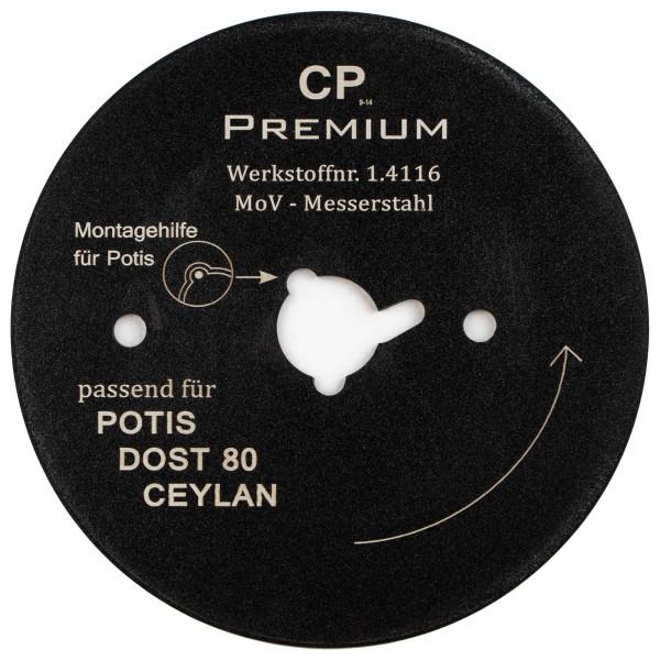 Kreismesser Ceylan Dost Potis 80 Teflon