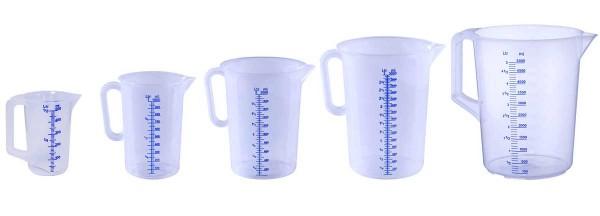 Messkanne Messbecher APS 0.5, 1, 2, 3, 5 Liter