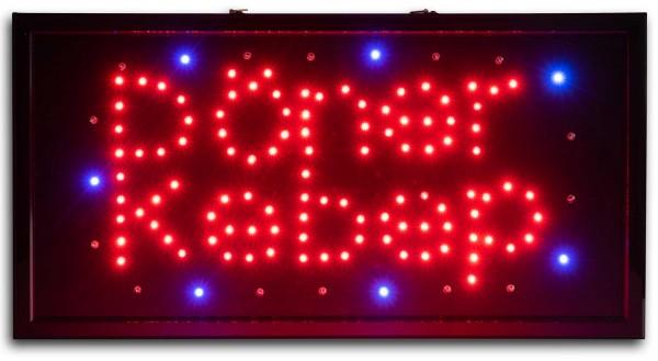 LED Leuchtreklame Schild Döner