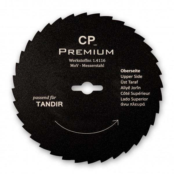 Kreismesser 120 Teflon Gezahnt für Tandir